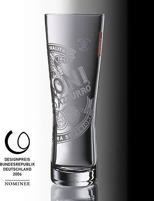 Birra Peroni Glasses